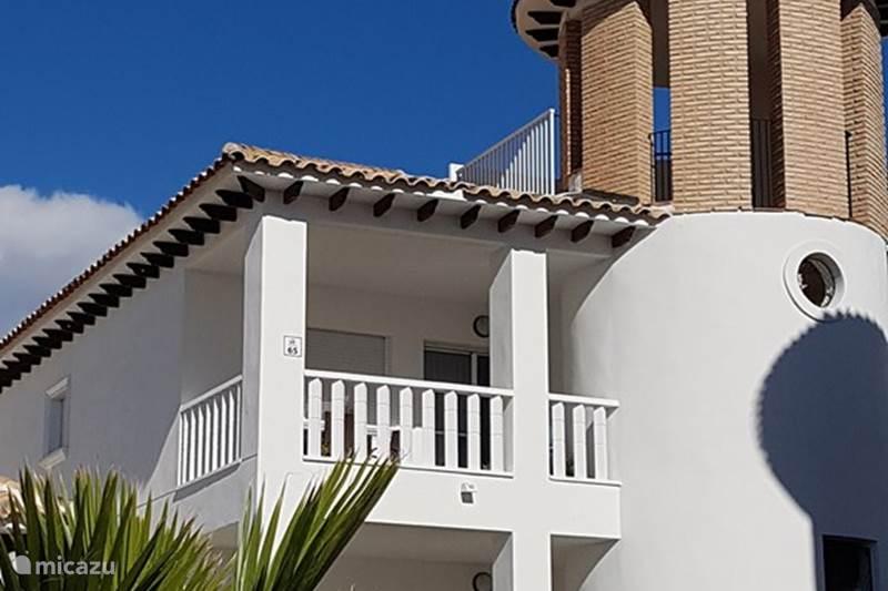 Vakantiehuis Spanje, Costa Blanca, La Marina del Pinet Appartement Mariposa - 800m van het strand