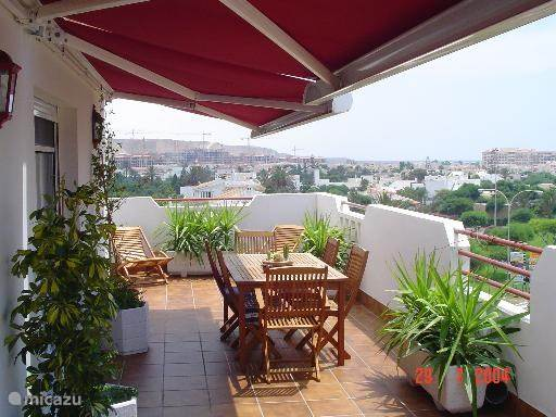 Ferienwohnung Spanien, Costa de Almería, Almerimar penthouse Penthaus Conde de Barcelona