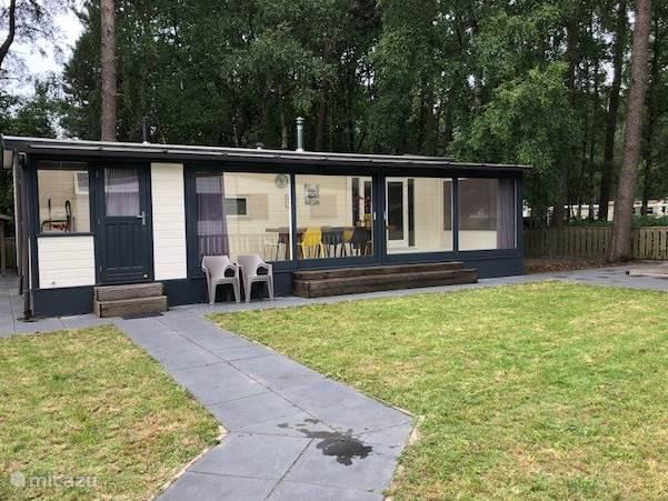 Vacation rental Netherlands, North-Brabant, Hilvarenbeek chalet Beekse Bergen Modern Chalet