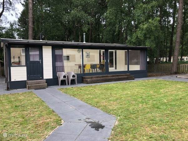 Vakantiehuis Nederland, Noord-Brabant, Hilvarenbeek Chalet Beekse Bergen Moderne Chalet