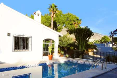 Vakantiehuis Spanje, Costa Blanca, Altea la Vieja villa Casa Teix