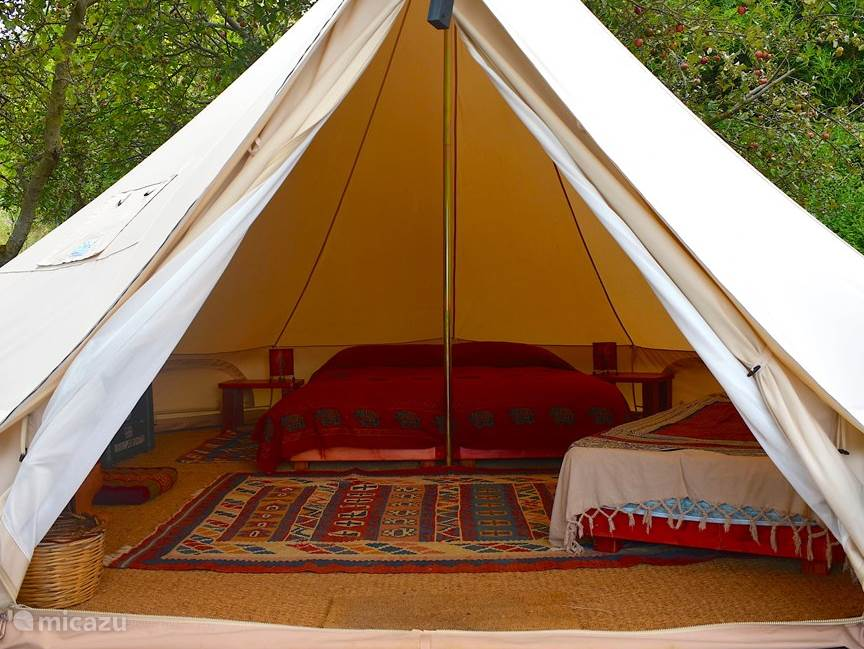Vakantiehuis Italië, Toscane, Santa Fiora glamping / safaritent / yurt Podere di Maggio - Glamping tent 3