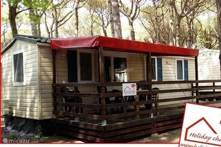 Ferienwohnung Italien, Emilia-Romagna, Lido di Spina mobilheim Chalet Lido di Spina auf dem Campingplatz