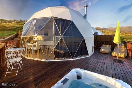 Vacation rental Portugal, Madeira, Prazeres glamping / safari tent / yurt Soul Glamping