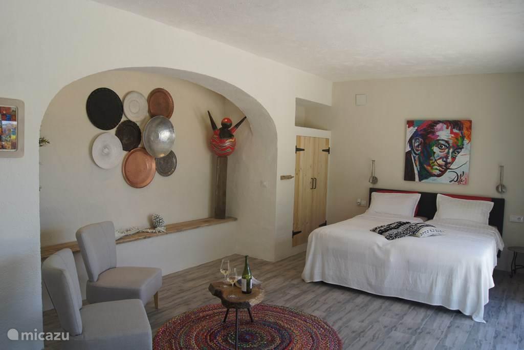 Vakantiehuis Spanje, Costa Blanca, Javea Studio Finca Robusto, studio Dali