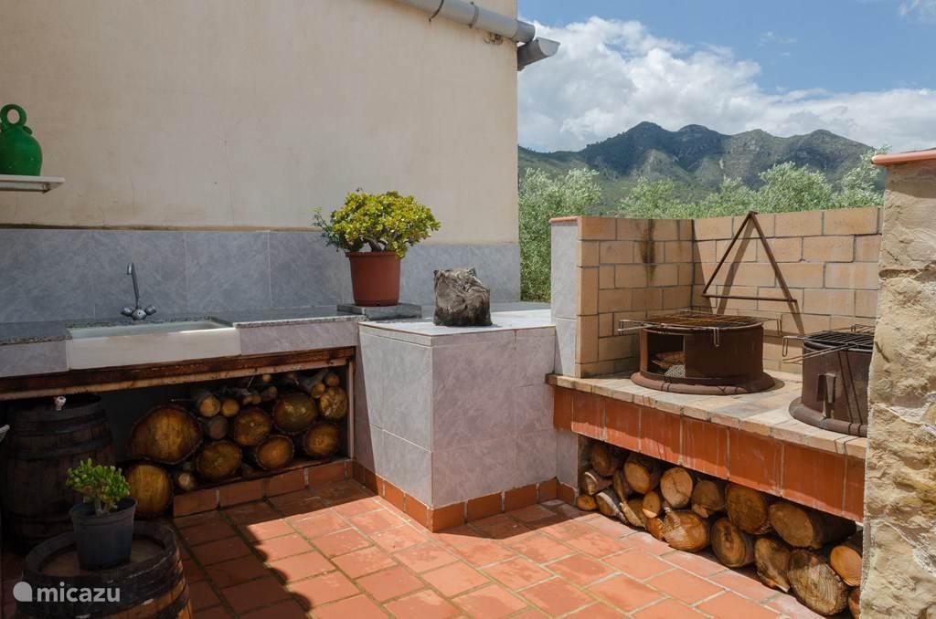 Vakantiehuis Spanje, Costa Dorada, Sant Carles de la Ràpita Villa Villa La Pelada,privézwembad + airco