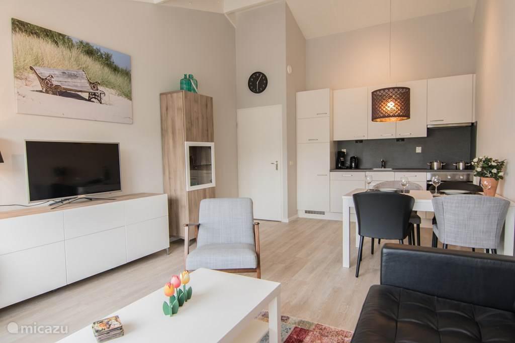 Modern en gezellig appartement