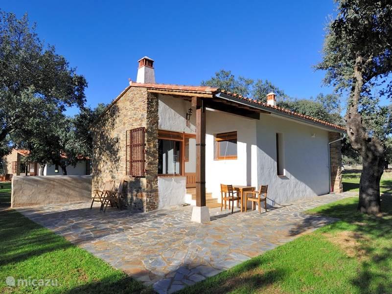 Vakantiehuis Spanje, Extremadura, Jaraicejo Bungalow Finca Las Abubillas 1