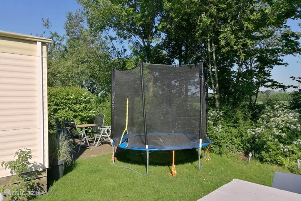 Trampoline met veligheidsnet