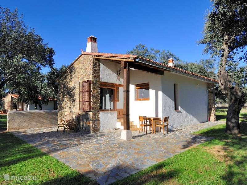 Vakantiehuis Spanje, Extremadura, Jaraicejo Bungalow  Finca Las Abubillas 2