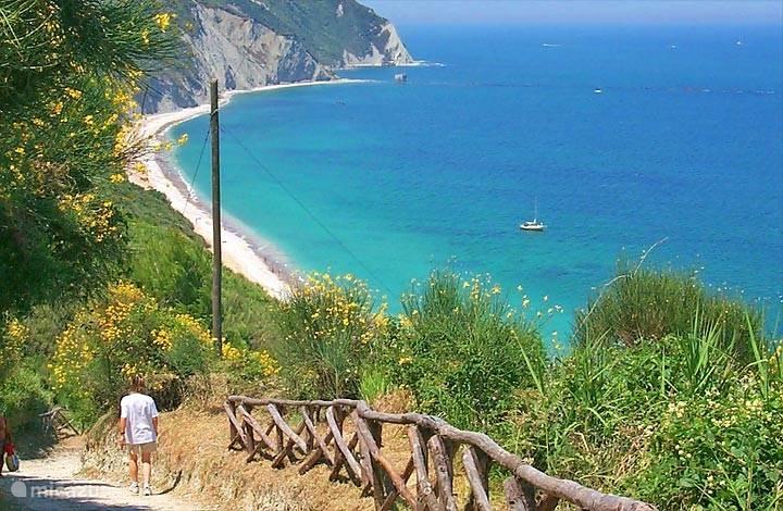 Strand bij Ancona