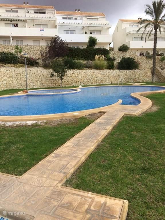 Vakantiehuis Spanje, Costa Blanca, Relleu Geschakelde woning Casa Mediterraneo