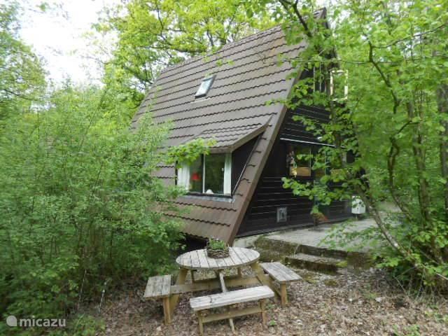 Dies ist unser schönes und gemütliches Haus, in dem Sie übernachten können.