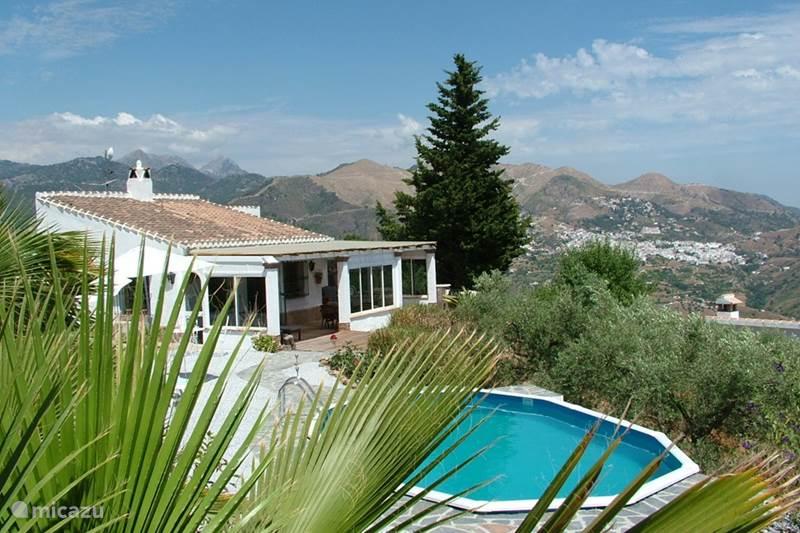 Vakantiehuis Spanje, Andalusië, Canillas De Albaida Finca Finca Vina