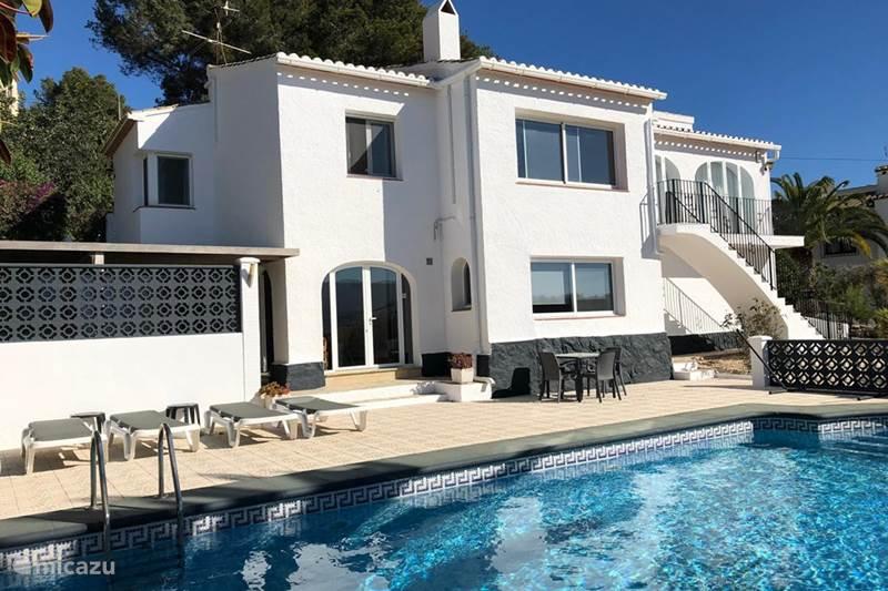 Vakantiehuis Spanje, Costa Blanca, Javea Villa Casa Cinco Villa 1-6 personen