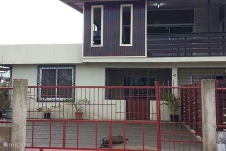 Vakantiehuis Suriname – geschakelde woning Leuke woning in Paramaribo