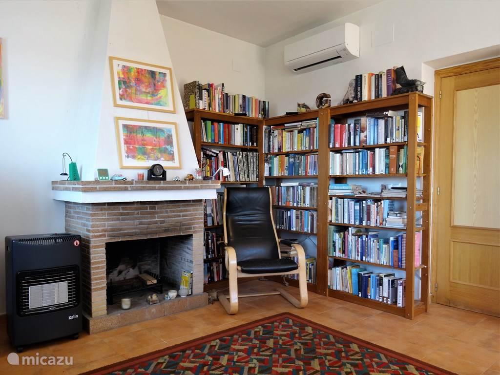 Uitebreide bibliotheek om heerlijk van te genieten