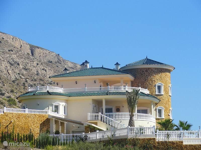 Vacation rental Spain, Costa Blanca, Hondón de las Nieves villa Casam