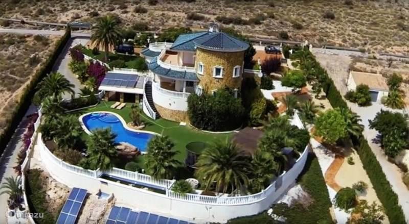 Villa CASAM luchtfoto