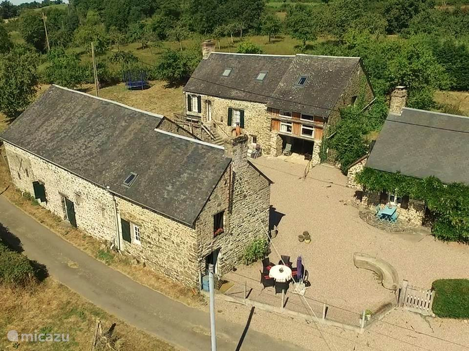 Vacation rental France, Normandy, Menil-Vin holiday house Tricolore Normandie, 3 gites