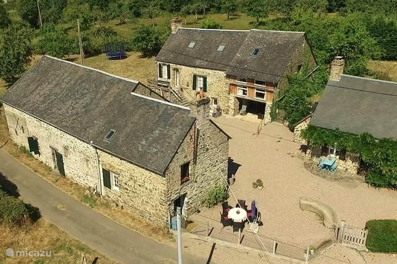 Vakantiehuis Frankrijk, Orne, Ménil-Vin Vakantiehuis Tricolore Normandie, 3 gites