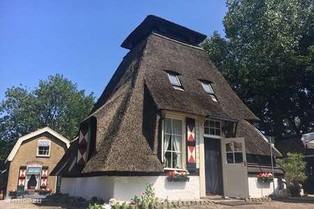 Vakantiehuis Nederland, Zuid-Holland, Bleskensgraaf – molen De Ouwe Meulen