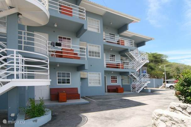 Vakantiehuis Curaçao, Banda Ariba (oost), Mambo Beach appartement Mambo Hill Youth & Dive Apartments