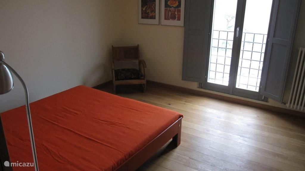 Slaapkamer 2de verdieping van een van de appartementen