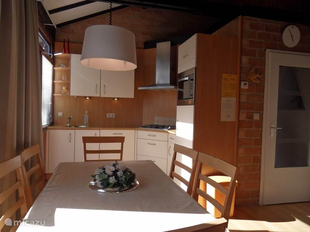 Open keuken met alle comfort