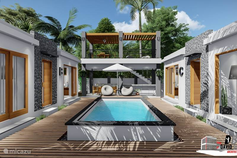 Vacation rental Curaçao, Curacao-Middle, Sint Michiel Studio Endless Ocean View Kalki Villa