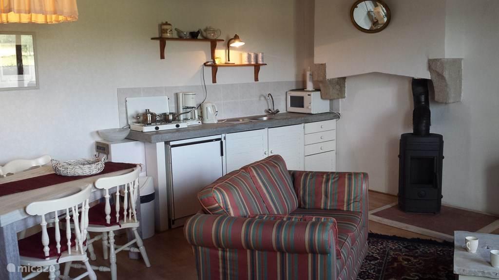 compacte keukenhoek