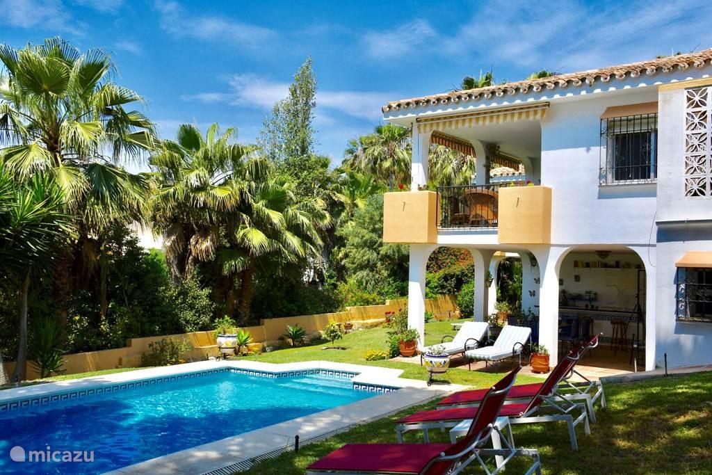 Vakantiehuis Spanje, Costa del Sol, Marbella Elviria villa Villa la Madrugada III