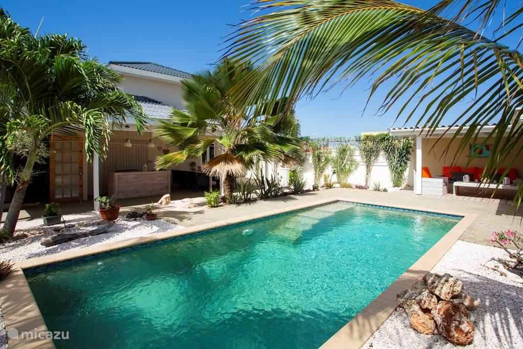 Vakantiehuis Curaçao, Banda Abou (west), Grote Berg villa Villa Cle - Curaçao