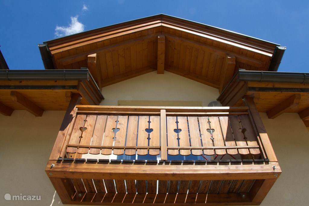 Balcony to large bedroom
