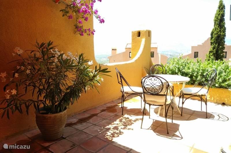 Vakantiehuis Spanje, Costa Blanca, Calpe Geschakelde woning Semiramis Altea - 4p - WiFi-Netflix