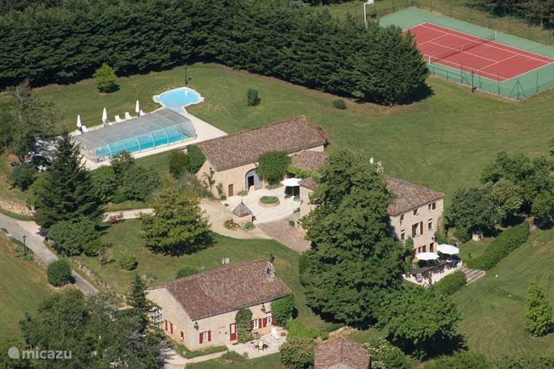 Vakantiehuis Frankrijk, Lot-et-Garonne, Gavaudun Landhuis / Kasteel Manoir de Montauriol
