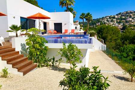 Vacation rental Spain, Costa Blanca, Benissa villa Casa Épica (Near Moraira)