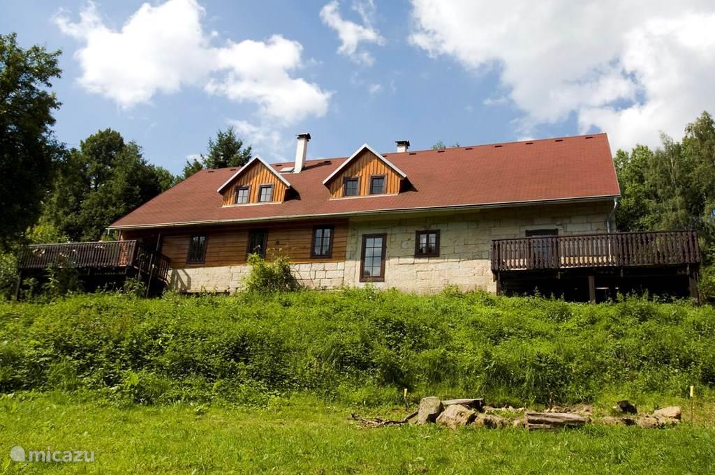Haus Na Potok im Sommer