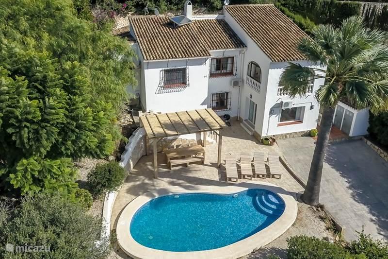 Vakantiehuis Spanje, Costa Blanca, Javea Villa Casa Blanca Rafalet