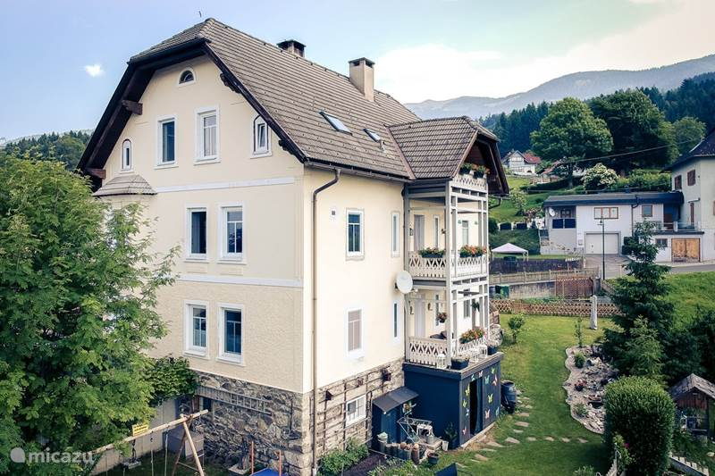 Vacation rental Austria, Carinthia, Fresach Apartment Haus Mirnockblick