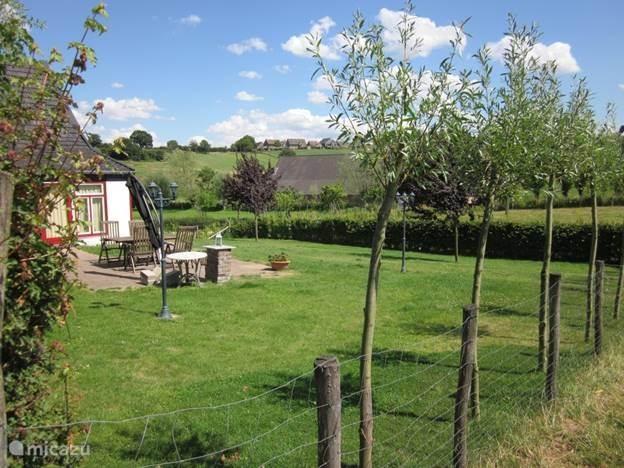 Een eigen omheinde tuin