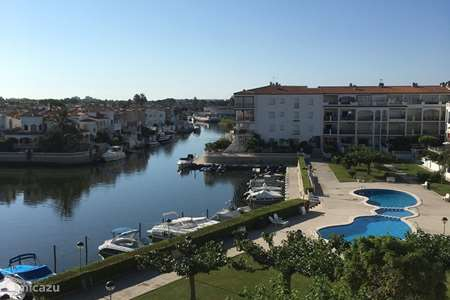 Vakantiehuis Spanje, Costa Brava, Empuriabrava appartement Gran Lago