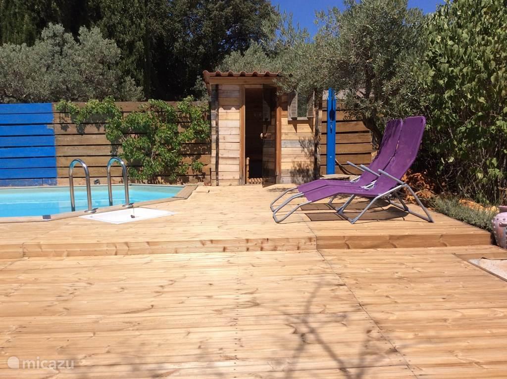 sauna en zwembad