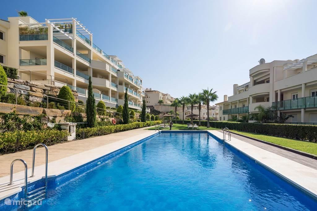 Vakantiehuis Spanje, Costa del Sol, Mijas Costa appartement 2 kamer appartement nabij Fuengirola