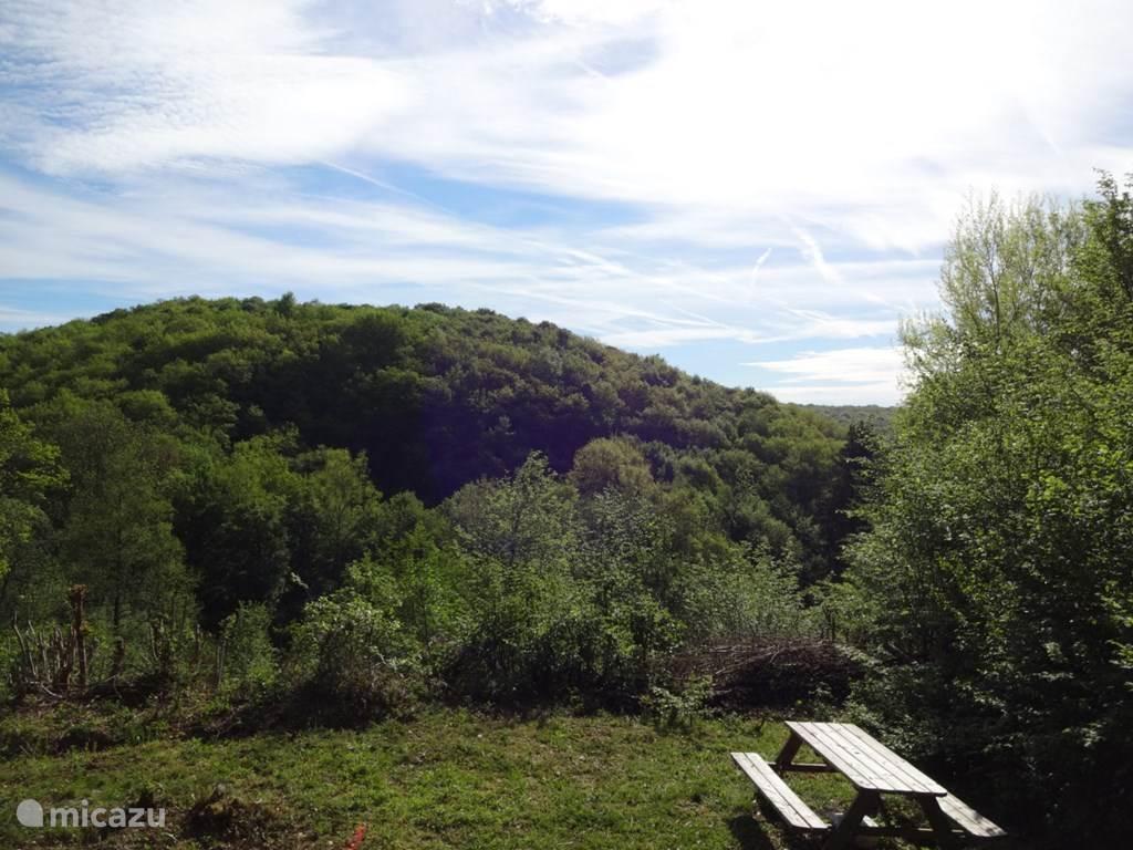 Schitterend uitzicht vanop ons terras