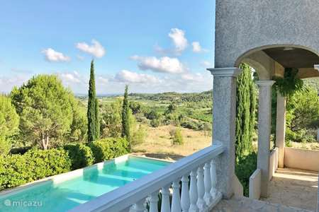 Vacation rental France, Hérault, Montouliers villa Villa ***** with beautiful views