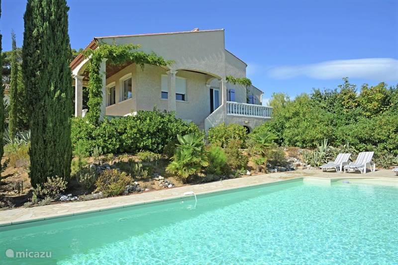 Vakantiehuis Frankrijk, Hérault, Montouliers Villa Villa ***** met prachtige uitzichten