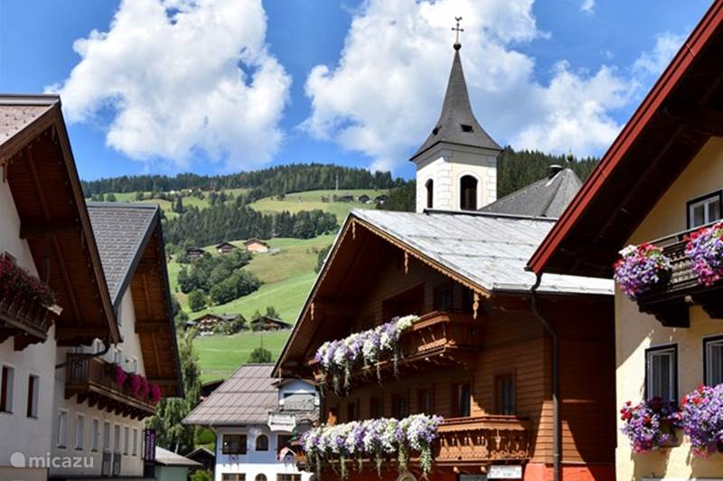 Vacation rental Austria, Salzburgerland, Wagrain Apartment Haus Obauer Top 8