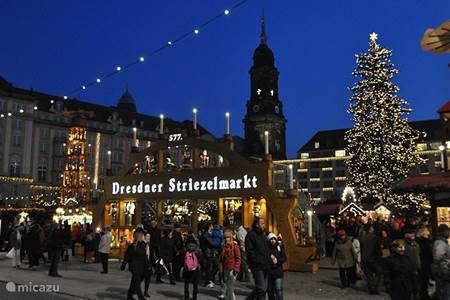 Dresdner Striezelmarkt.