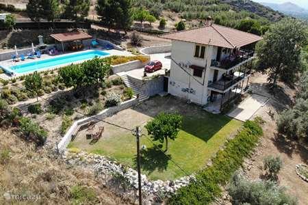 Vakantiehuis Griekenland, Peloponnesos, Nafplio vakantiehuis Oneiro Mas